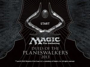 Magic 2013 logo/start screen