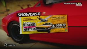 Forza Horizon mustang vs mustang title screen