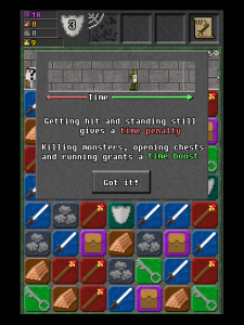 10000000 screenshot showing time tutorial screen