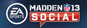 Logo for Madden NFL 13 Social